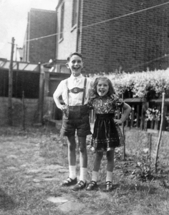 11 Nanny Africa_Kenneth and Veronica (aged 10 & 6) Ealing c1957